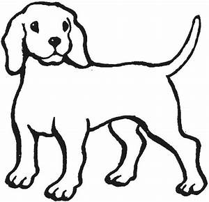 Outline Of A Dog - Cliparts.co