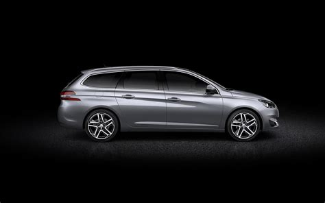 peugeot open europe review peugeot 308 sw revealed with 610 liters of cargo space