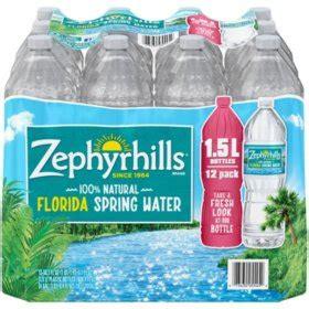 zephyrhills  natural spring water    pk