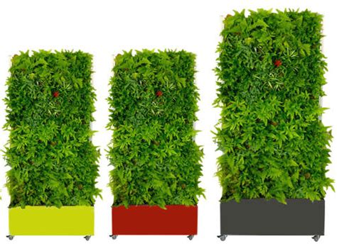 le mur v 233 g 233 tal autoportant green logistique