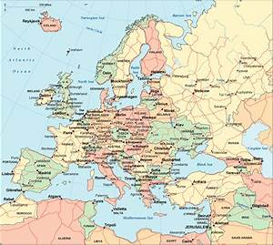 Map of Europe Cities Pictures: Map of Europe Countries ...