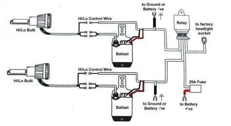 Hid Kit Wiring Diagram by Bixenon Wiring Diagram Battery Hids Direct Ltd Store