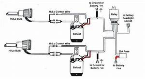Bixenon Wiring Diagram  Battery