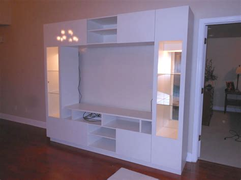 Traditional White Wall Unit Storage Pinterest Living For