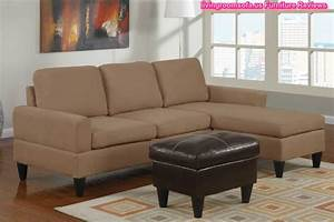 Beige apartment size sectional sofa l shaped small for Small beige sectional sofa