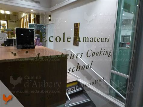 lenotre cours de cuisine cours de cuisine lenôtre pavillon élysée