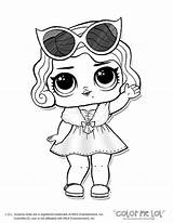 Coloring Omg Doll Pages Lol Dolls Colouring Surprise Printable American Comments sketch template