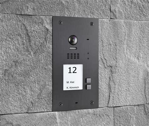 wechselsprechanlage mit kamera rfid t 252 rstation f 252 r 2 familienhaus balter preiswert kaufen