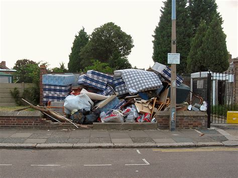 where can you dump a mattress illegal dumping
