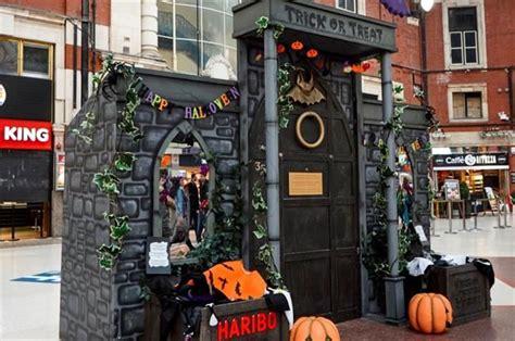 promotional trick  treat doors halloween door