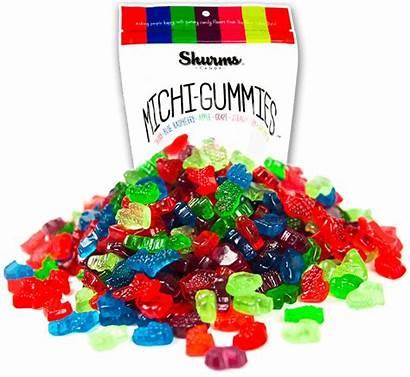 Candy Michigan Gummies Michi Shaped Fizzy Zotz