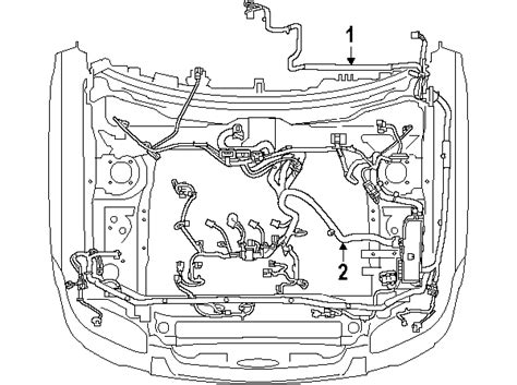 Parts Ford Escape Wiring Harness Oem