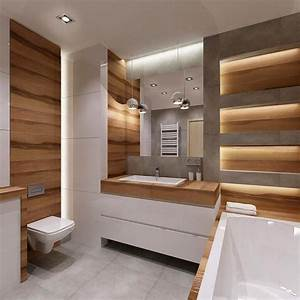 idee decoration salle de bain salle de bain blanche aux With salle de bain design avec décoration végétale murale