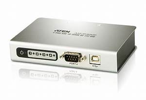 4-port Usb To Rs-232 Hub