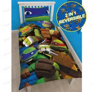 teenage mutant ninja turtles duvet covers single bedding
