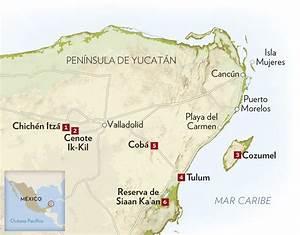 Viaje por la Riviera Maya mexicana