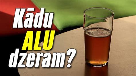 Kādu alu dzer latvieši? - YouTube