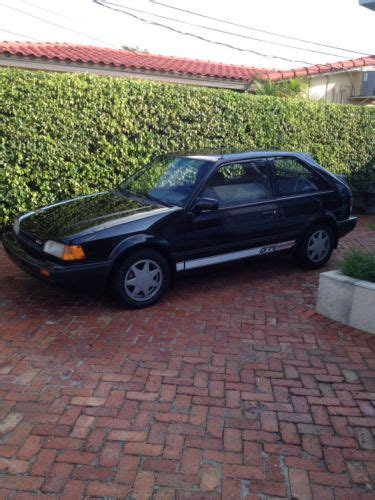 automotive service manuals 1988 mazda familia electronic valve timing sell used 1988 mazda 323 gtx hatchback 2 door 1 6l in fort lauderdale florida united states