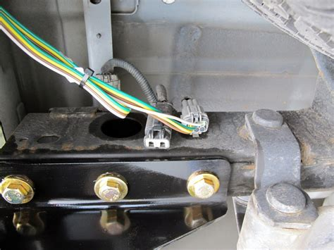 Nissan Frontier Custom Fit Vehicle Wiring Curt