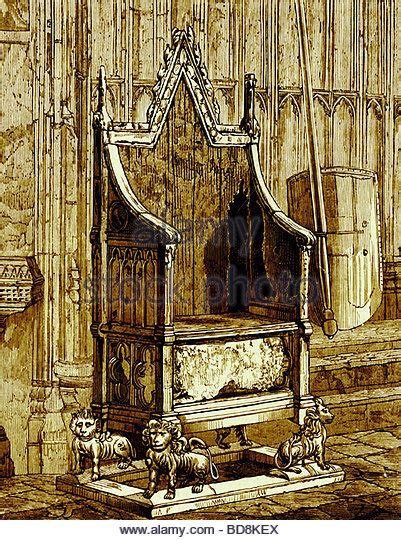King Edward Coronation Chair by Coronation Chair Westminster Stock Photos Coronation