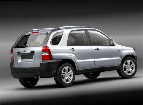 suv kia 2008 kia sportage 2005 2008 3d model max 3ds cgtrader com