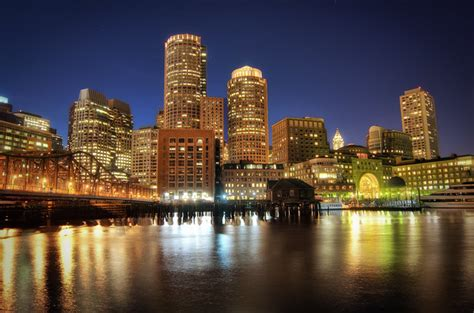 boston downtown  night flickr photo sharing