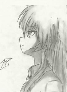 8 Best Images of Anime Drawings In Pencil - Anime Pencil ...