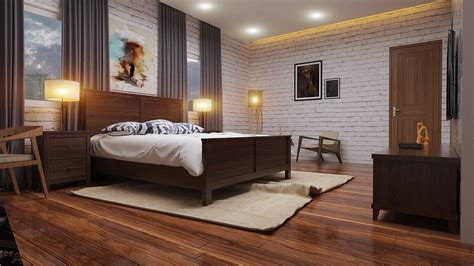 Style Bedroom Retro & Visopt  By Than Nguyen #307