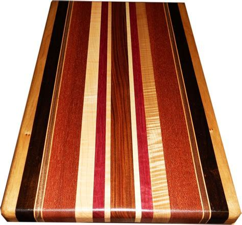 Buy a Custom Made Exotic Wood Cutting Board ~ Full Size
