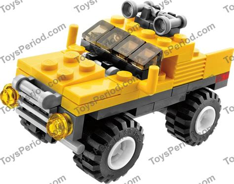 Lego 6742 Mini Jeep Set Parts Inventory And Instructions