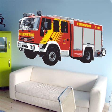 Kinderzimmer Junge Feuerwehr by Feuerwehr Deko Kinderzimmer