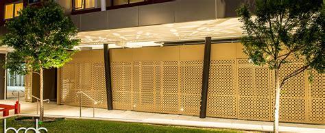 Patterned Panel Cutout Swimdress laser cut designer garden screens hc designer screens