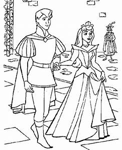 Sleeping Beauty Coloring Pages