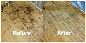 How to remove pet urine stains from hardwood floors youtube for How to clean dog urine from hardwood floors