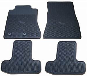 2015-2019 Mustang All Weather Floor Mats Package - RPIDesigns.com