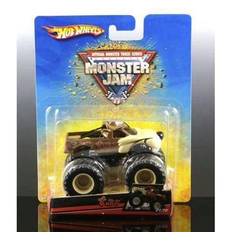 monster jam toys trucks wheels monster jam quot taz quot toy car die cast and