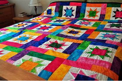 Quilt Lucky Stars Forthright Hours