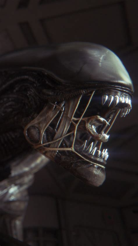 wallpaper alien isolation game survival horror alien