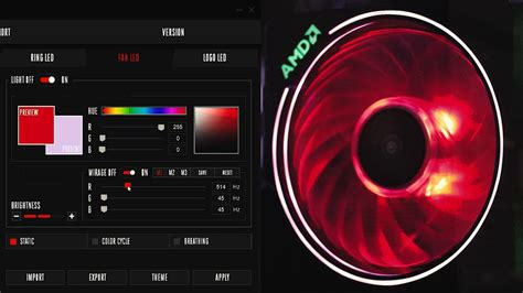 wraith prism mirage effect tutorial coolest stock cooler