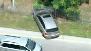 High-speed car chase in Miami ends with police firing ...