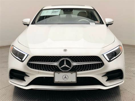 Leather upholstery and wood trim add to the luxurious cabin's. New 2020 Mercedes-Benz CLS CLS 450 4MATIC® Coupe Coupe in Chantilly #7200839   Mercedes-Benz of ...