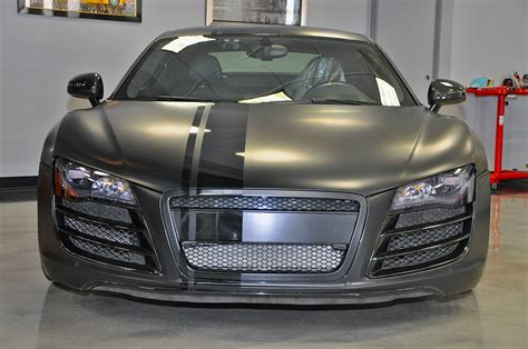 evil 800hp matte black audi r8 by vf engineering gtspirit