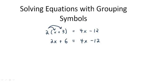 grouping symbols math worksheets more on removing