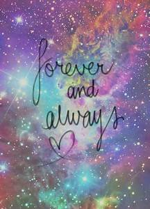 Galaxy Forever Quotes. QuotesGram
