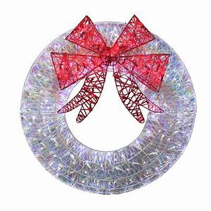 Holiday Living 36 in White LED Christmas Wreath