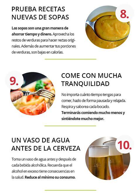 infografias  te ayudan  llevar una alimentacion