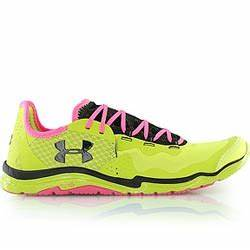 UNDER ARMOUR WMNS CHARGE 2 RACER chaussure vert fluo