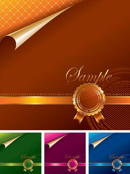 award ceremony background  vector