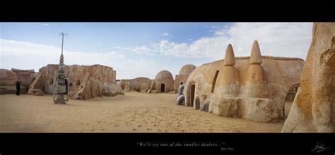 Star Wars Episode 4 Wallpaper Mos Eisley Spaceport Tunisia 2 By Crimsonsun1902 On Deviantart