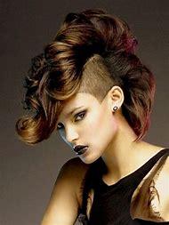 Women Mohawk Hairstyles Long Hair